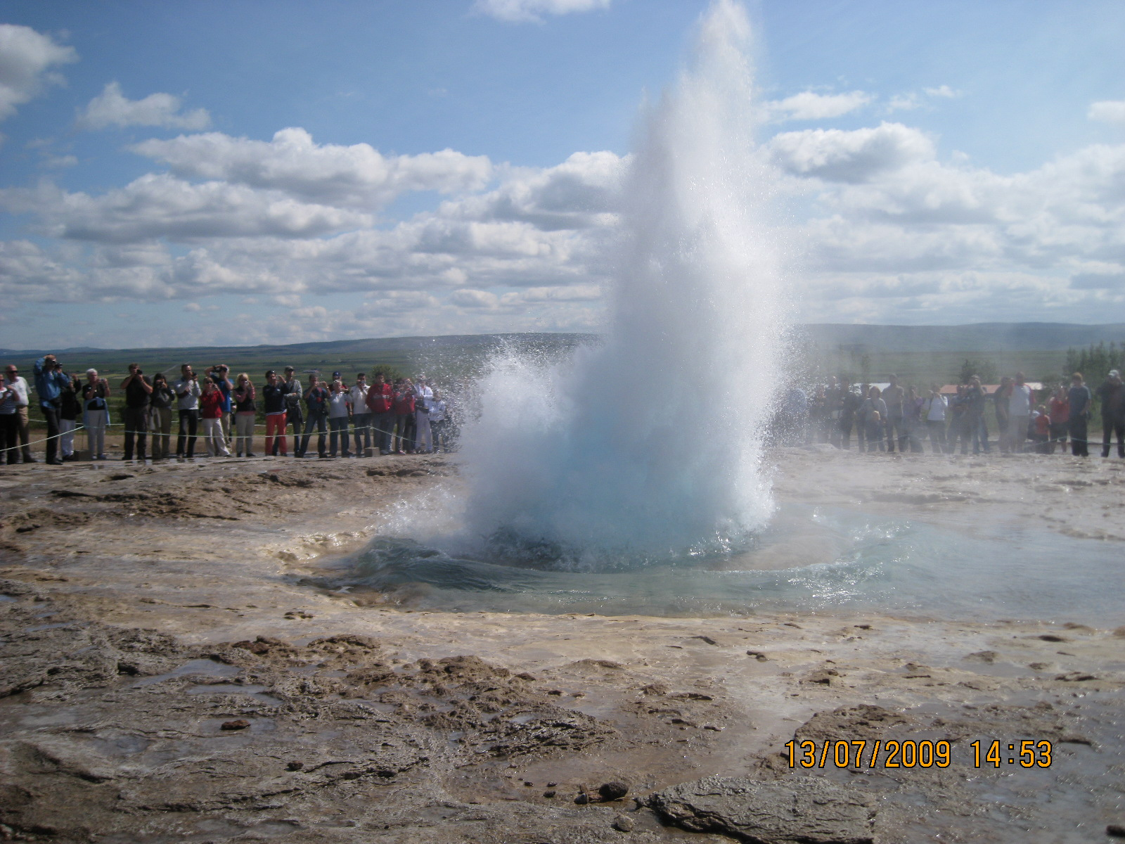 Gayser in azione - Islanda