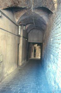 Perugia - Uno scorcio della Rocca Paolina