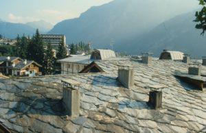 Valle D'Aosta - I tetti di Courmaieur