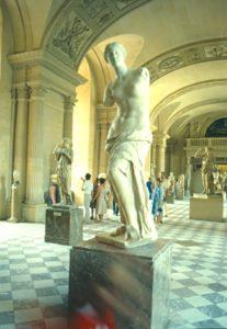 Parigi - La Venere di Milo al Museo del Louvre