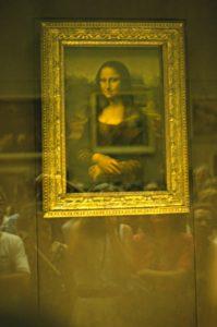 Parigi - La Gioconda al Museo del Louvre