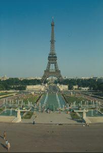 Parigi - La torre Eiffell