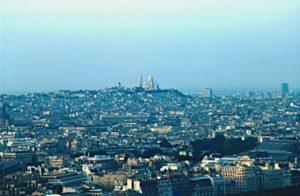 Parigi - Panorama dalla torre Eiffell