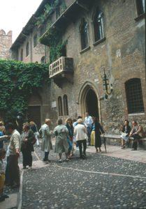Verona - Il balcone di Giulietta