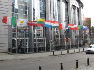Palazzo Charlemagne, sede del Parlamento Europeo.