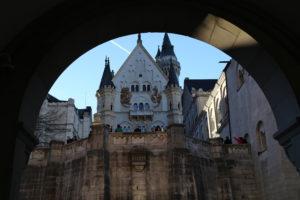 Il castello di Neuschwanstein - Interno.