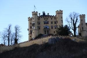 Il castello di Hohenschwangau.