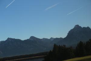 La campagna bavarese.