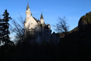Il castello di Neuschwanstein - retro.