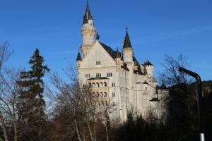 Il castello di Neuschwanstein - Altra vista.