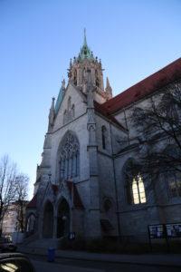 San Pauls Kirche.