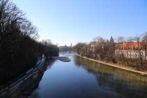 Il fiume Isar.