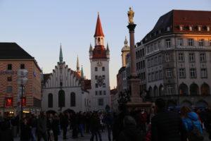 Marienplatz.