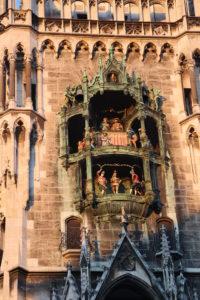 Il carillon della torre del New Town Hall.
