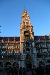 Marienplaz,la torre del New Town Hall.