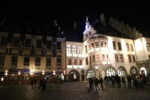 Hofbrauhaus, la più antica e rinomata birreria di Munchen.