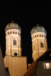 Le torri del Duomo.