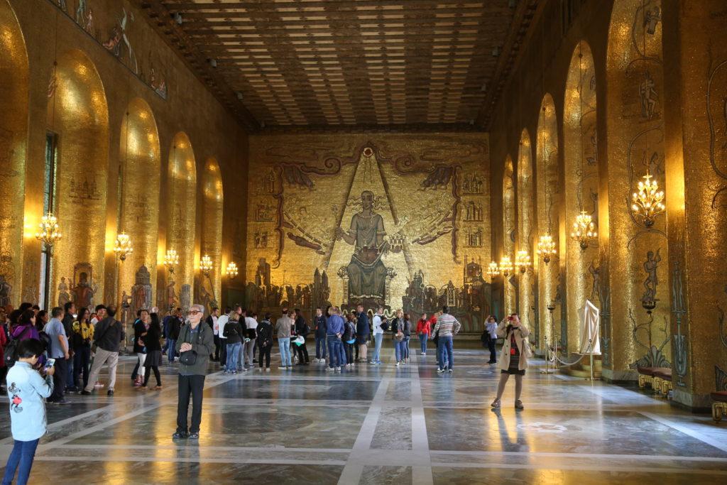 Stoccolma, il Municipio. Il luogo dove vengono consegnati i primi Nobel.
