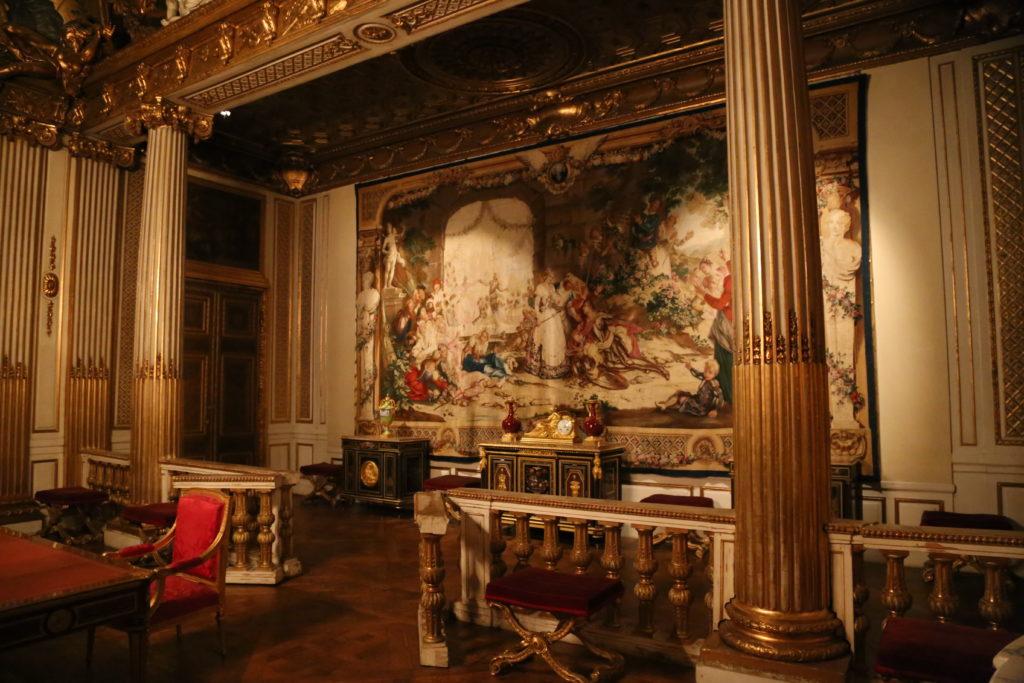 Stoccolma, interno del palazzo reale.