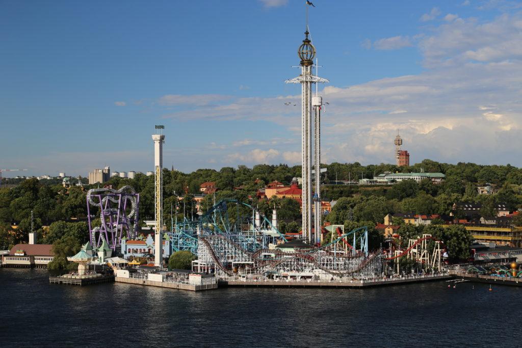 Stoccolma, il parco giochi.