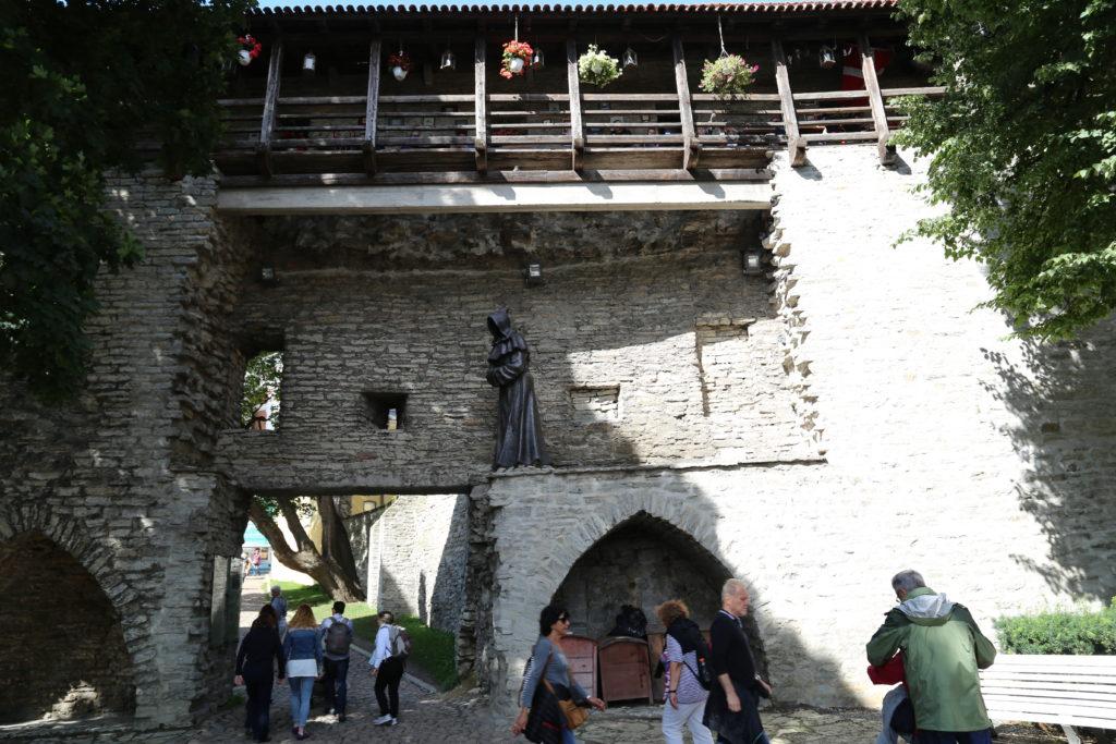 Tallin, le vecchie mura.