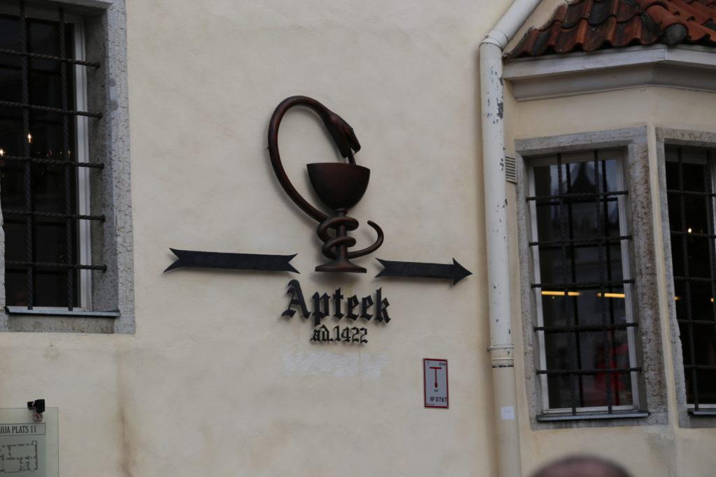 Tallinn, la più antica Farmacia d'Europa.