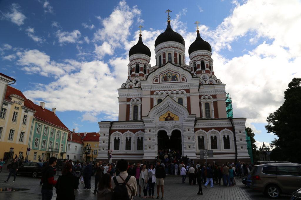 Tallinn, Cattedrale di Aleksandr Nevskij.