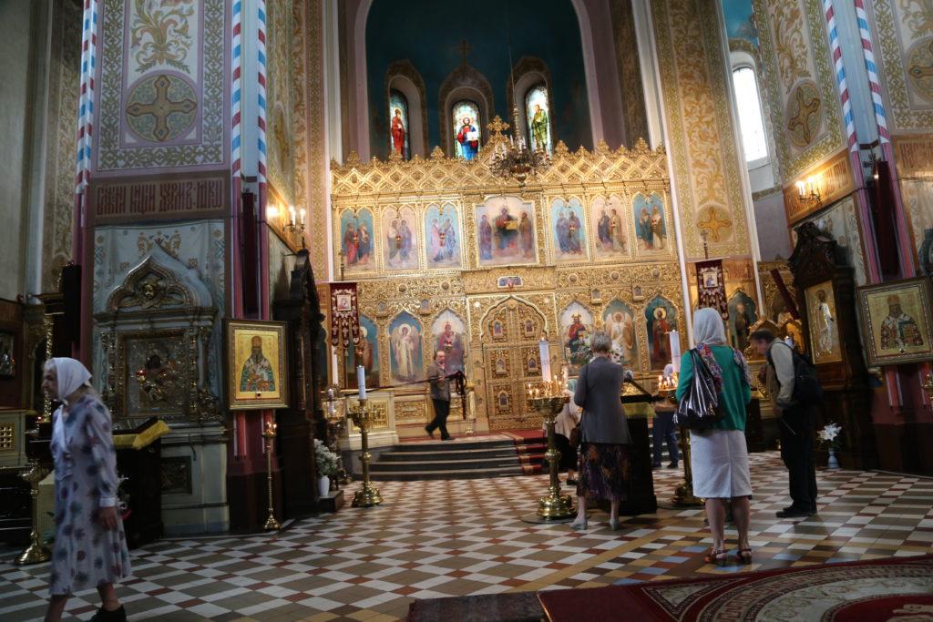 Tallinn, Cattedrale di Aleksandr Nevskij - interno.