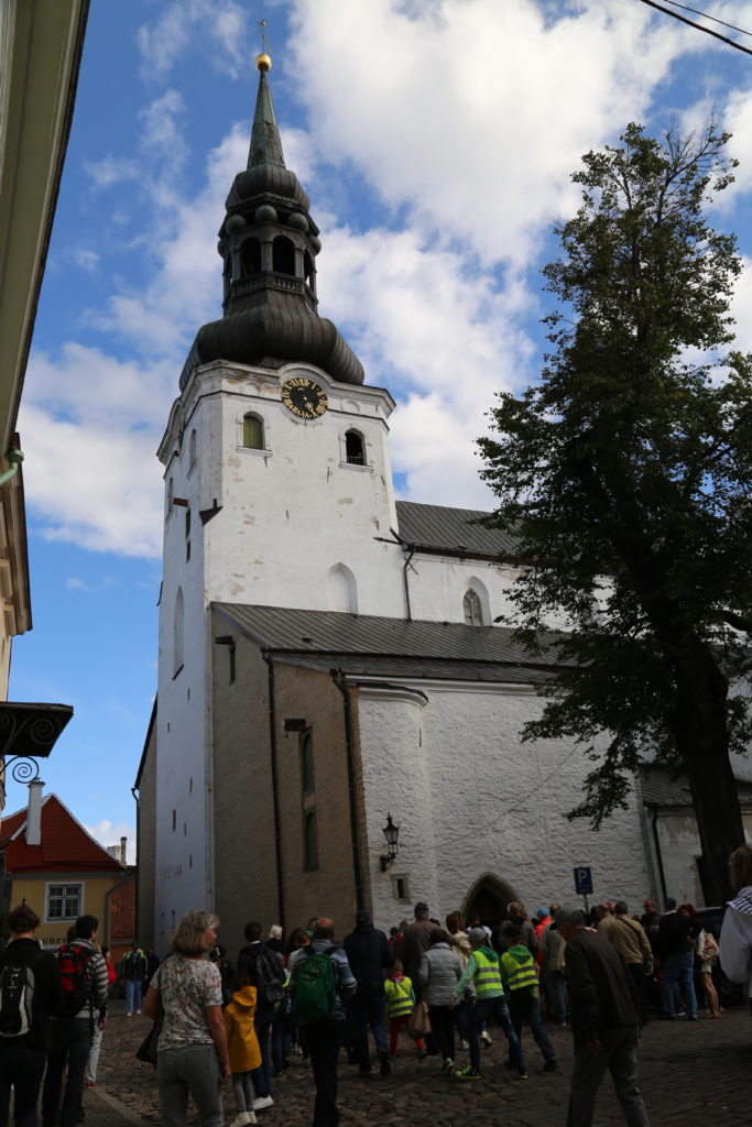 Tallinn, St. Nicholas Church.