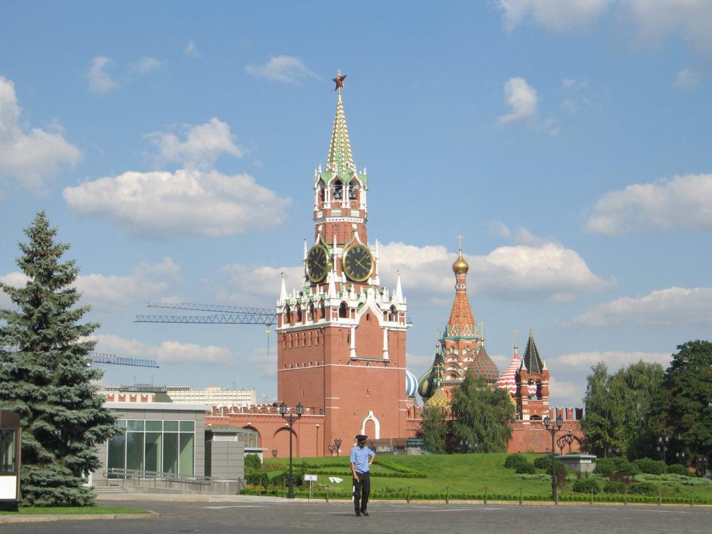 Mosca, all'interno del Cremlino