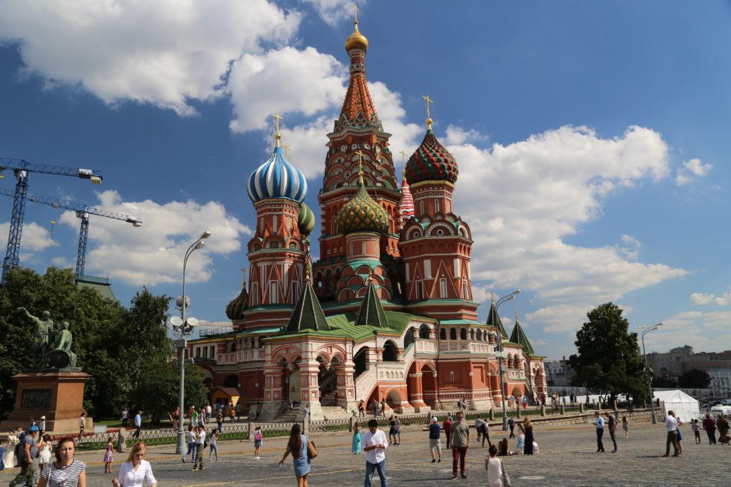Mosca, la chiesa di San Basilio.