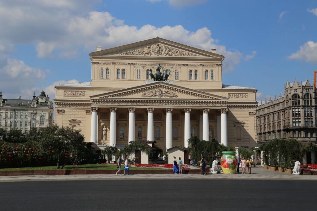 Mosca, il teatro Bolshoy