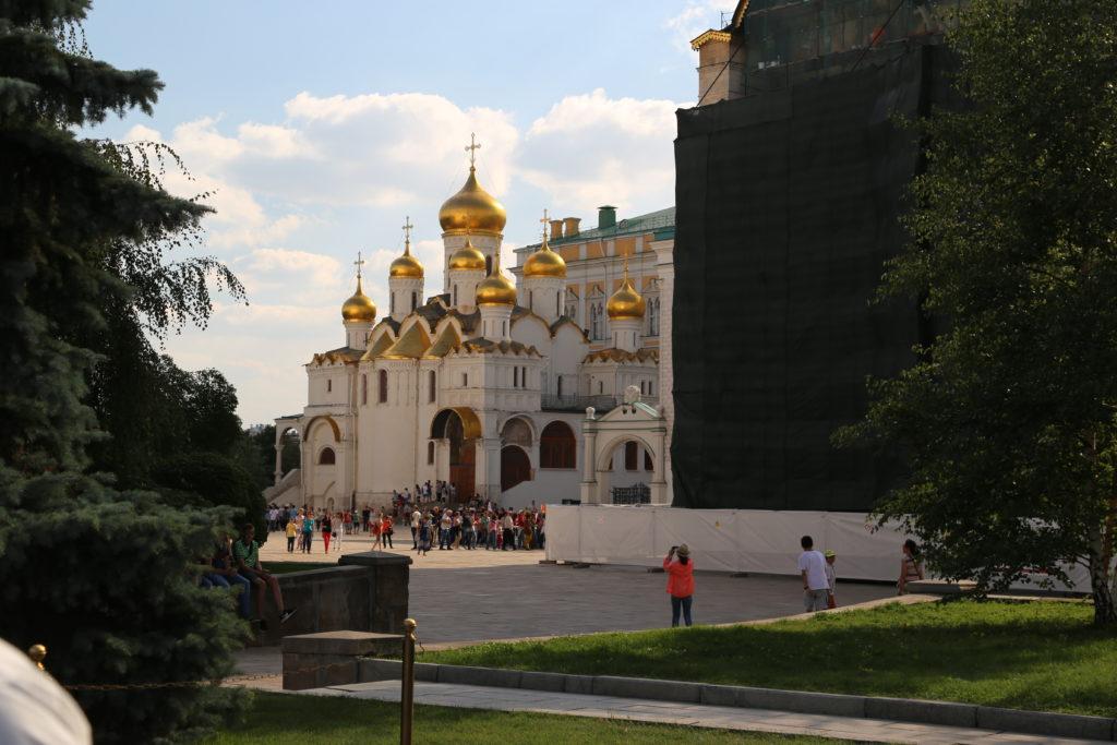 Mosca, dentro il Cremlino, Cattedrale dell'Arcangelo Michele