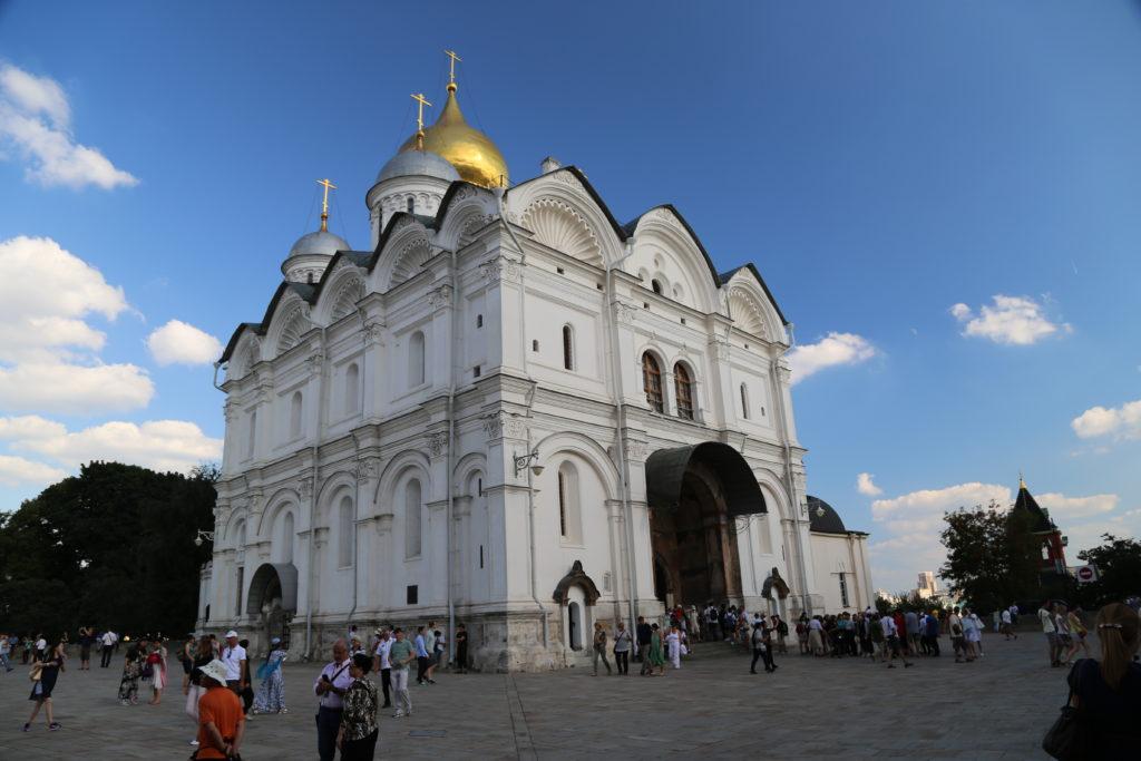 Mosca, Piazza Sobornaya (Piazza delle Cattedrali).