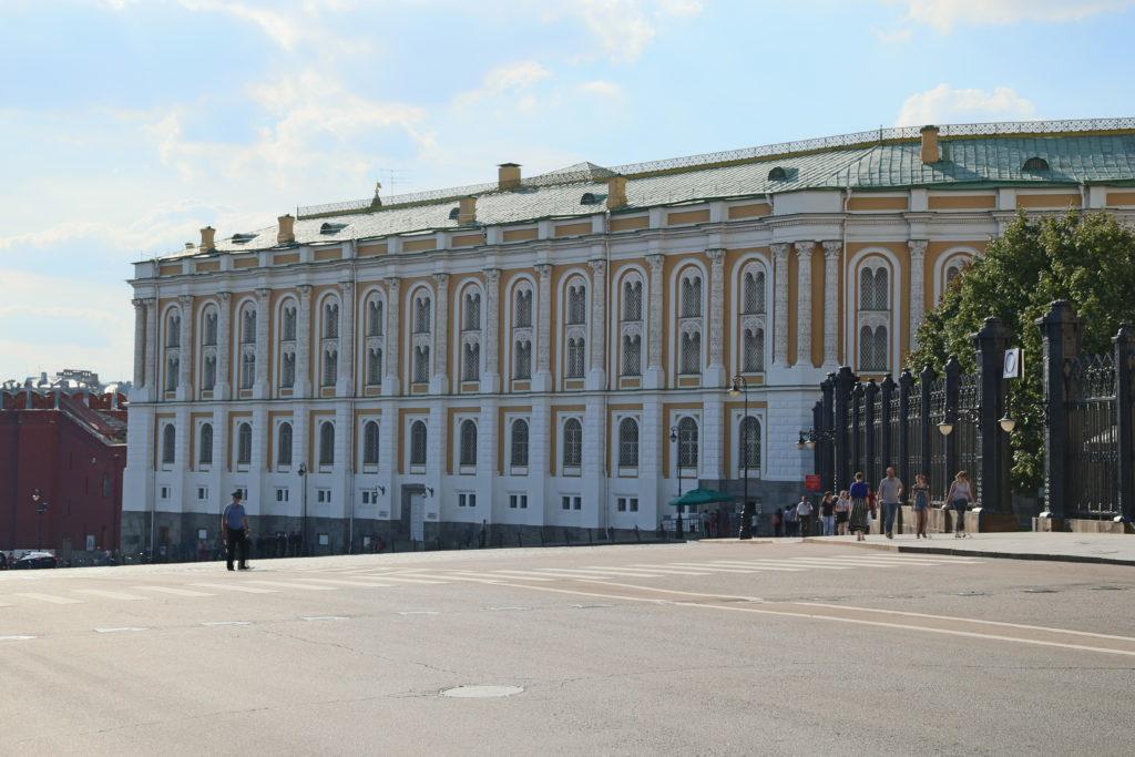 Mosca, il Cremlino - l'Armeria.