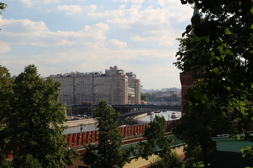 Mosca, La Moscova vista dal Cremlino.