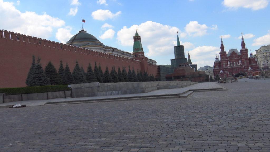 Mosca, la Piazza Rossa