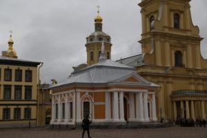 San Pietroburgo, all'interno della Fortezza di Pietro e Paolo