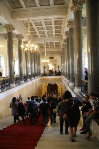 San Pietroburgo0,l'Ermitage, interno
