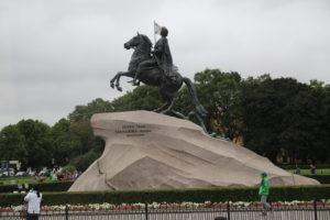 San Pietroburgo, Monumento a Pietro il Grande e Caterina Seconda