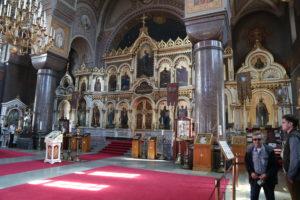Helsinki, Cattedrale della dormizione – interno.