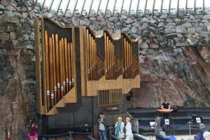 Helsinhi, Chiesa del Temppeliaukio – Chiesa scavata nella roccia