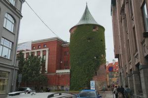 Riga - Le vecchie mura.