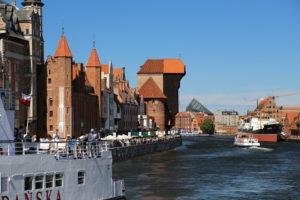 Danzica, il vecchio porto