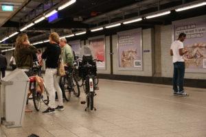 Con le bici sul Metrò!