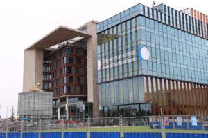 La Biblioteca e il Conservatorio.