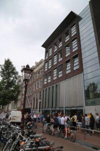 La casa di Anne Frank.