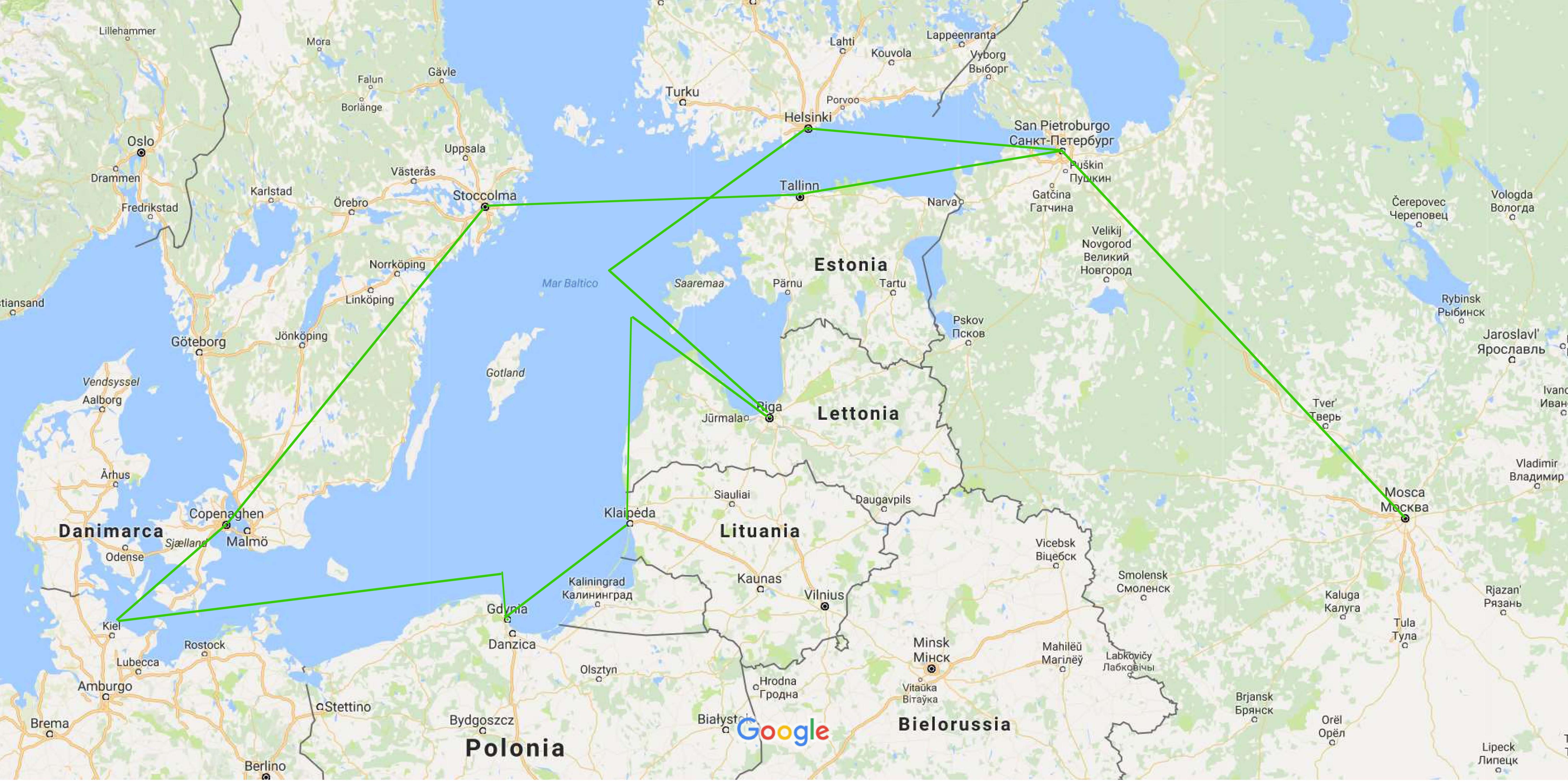 Itinerario