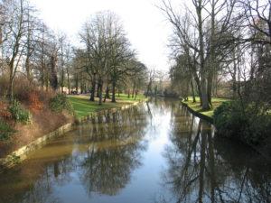 Uno dei canali di Bruges