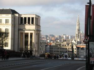 La città vista da Place Royale.
